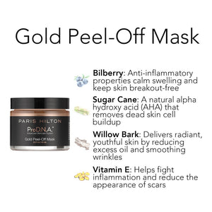 ProD.N.A Gold Peel-Off Mask Intro Bundle- Buy 3 Get 1 Free