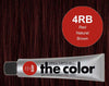 The Color 4RB Red Natural Brown