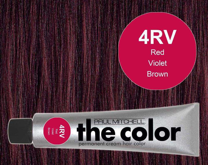 The Color 4RV Red Violet Brown