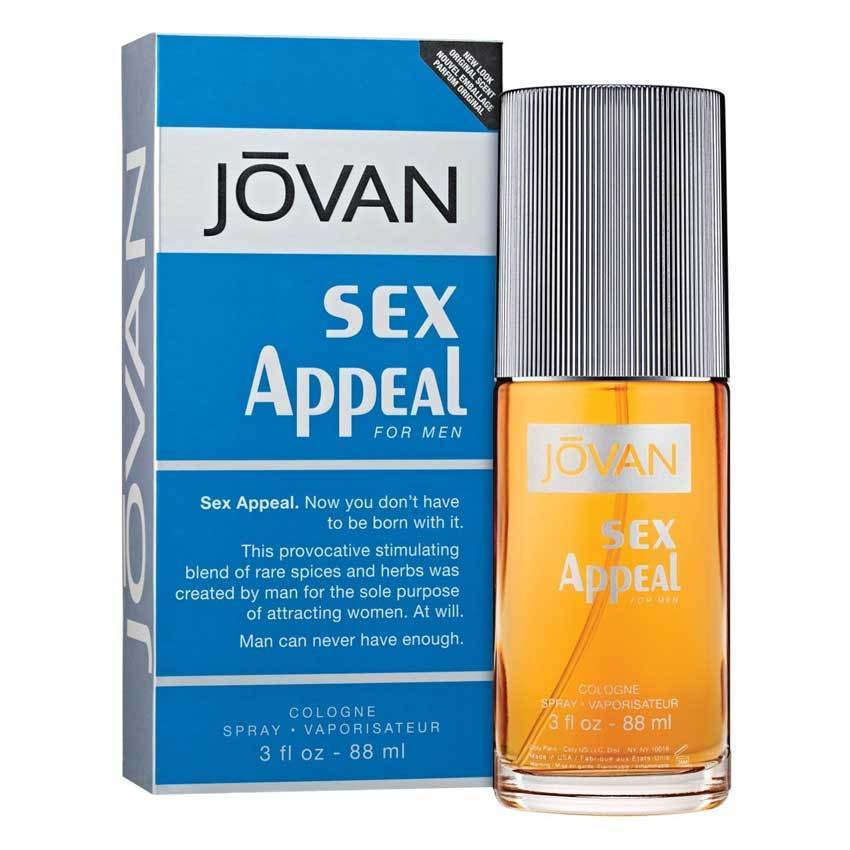 Sex Appeal For Men eau de cologne spray