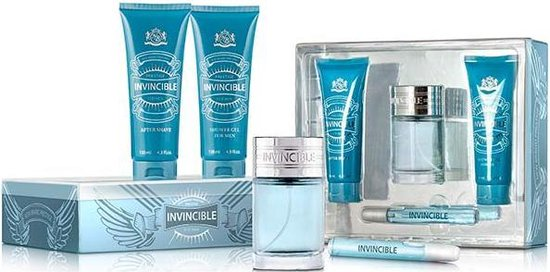Prestige - Invincible for men 4 Piece Set