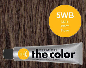 The Color 5WB Light Warm Brown