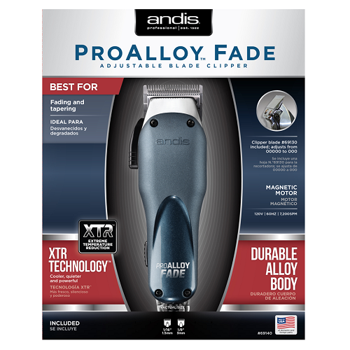 Pro Alloy Fade Adjustable Blade Clipper