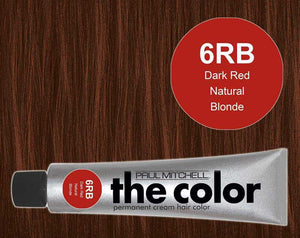 The Color 6RB Dark Red Natural Blonde
