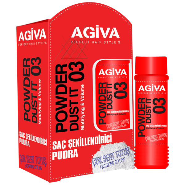 AGIVA <br> Red Styling Powder – Extra Strong Hold