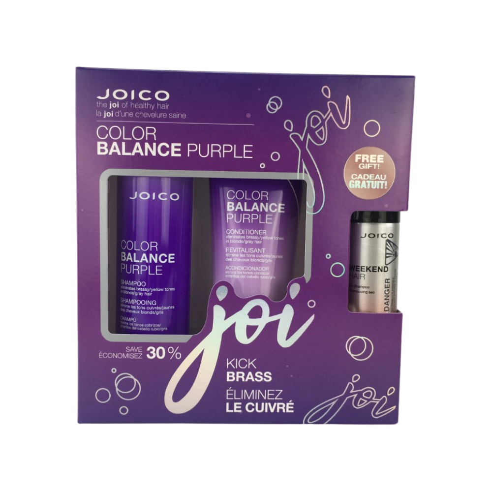 Color Balance Purple Gift Set