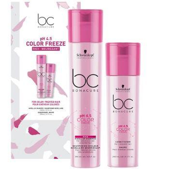 BC Bonacure pH 4.5 Color Freeze Silver Duo