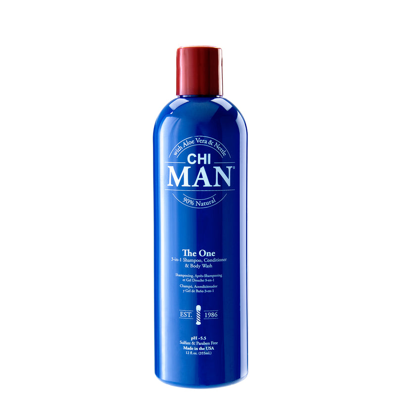 CHI Man The One 3-in-1 Shampoo, Conditioner & Body Wash