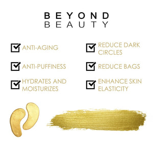 BEYOND BEAUTY <br> 24K Gold Collagen Eye Mask