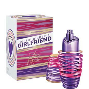 justin bieber girlfriend eau de parfum spray