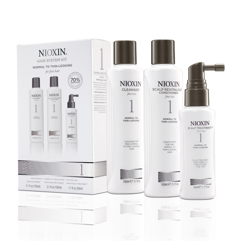 NIOXIN System 1 Starter Hair Kit