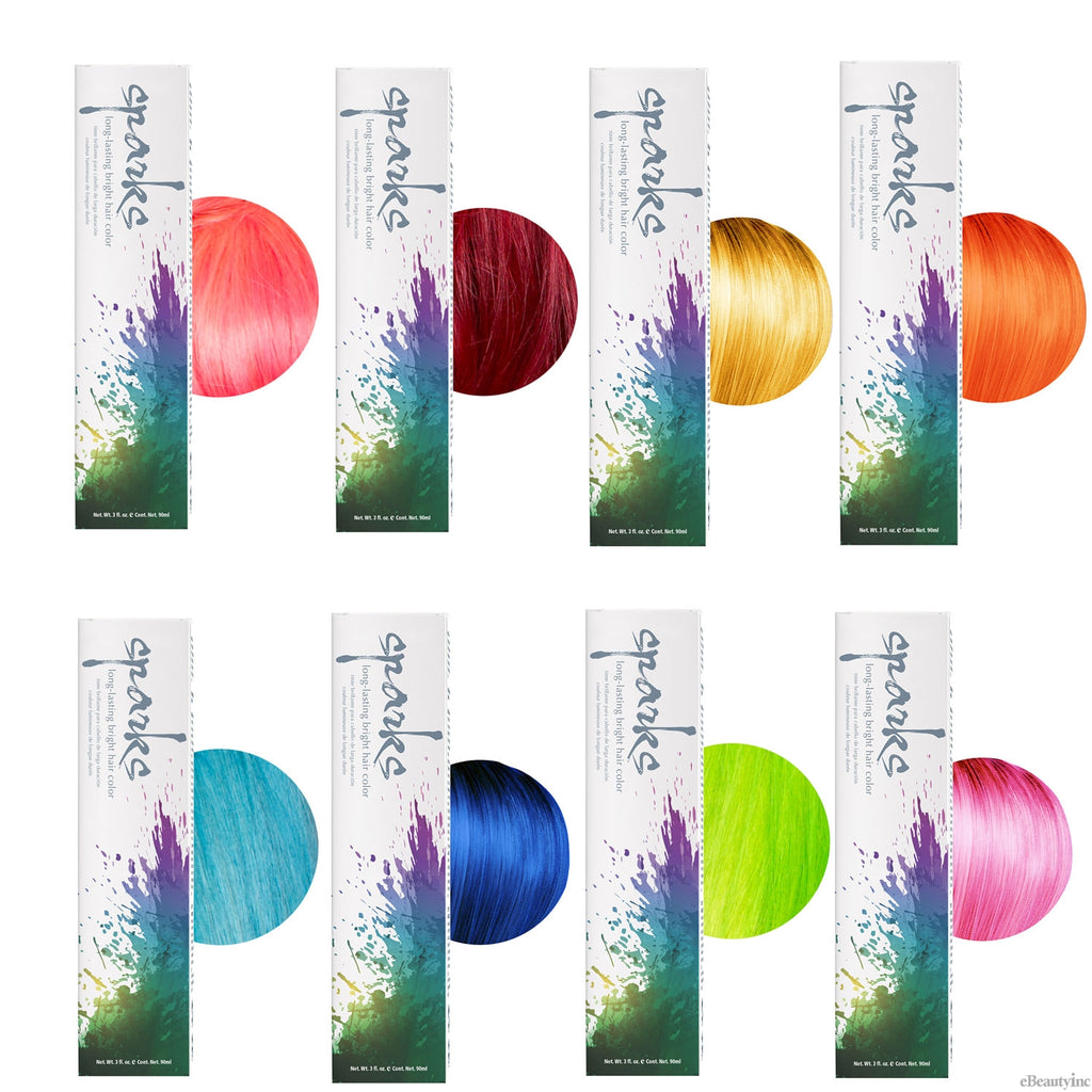 SPARKS Long-Lasting Bright Hair Color Clear