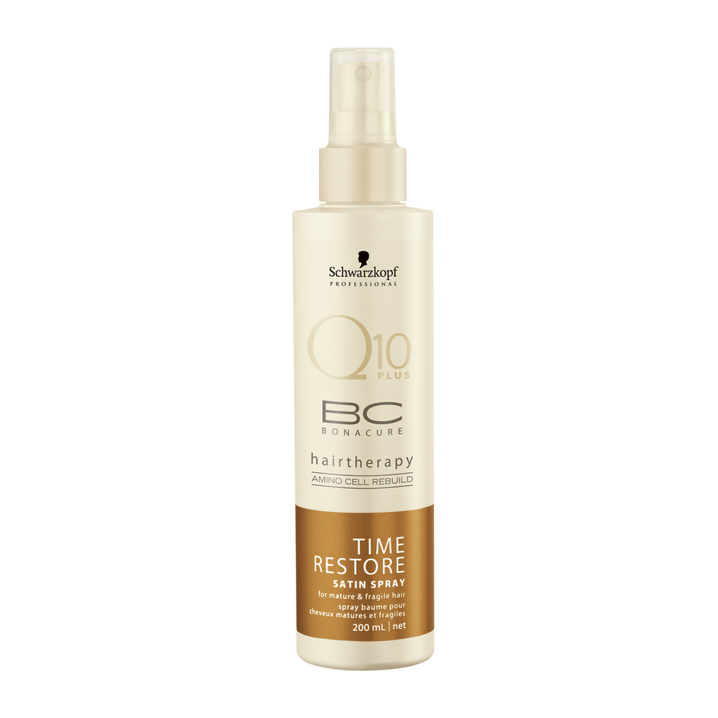 SCHWARZKOPF BC Bonacure Q10 Plus Time Restore satin spray