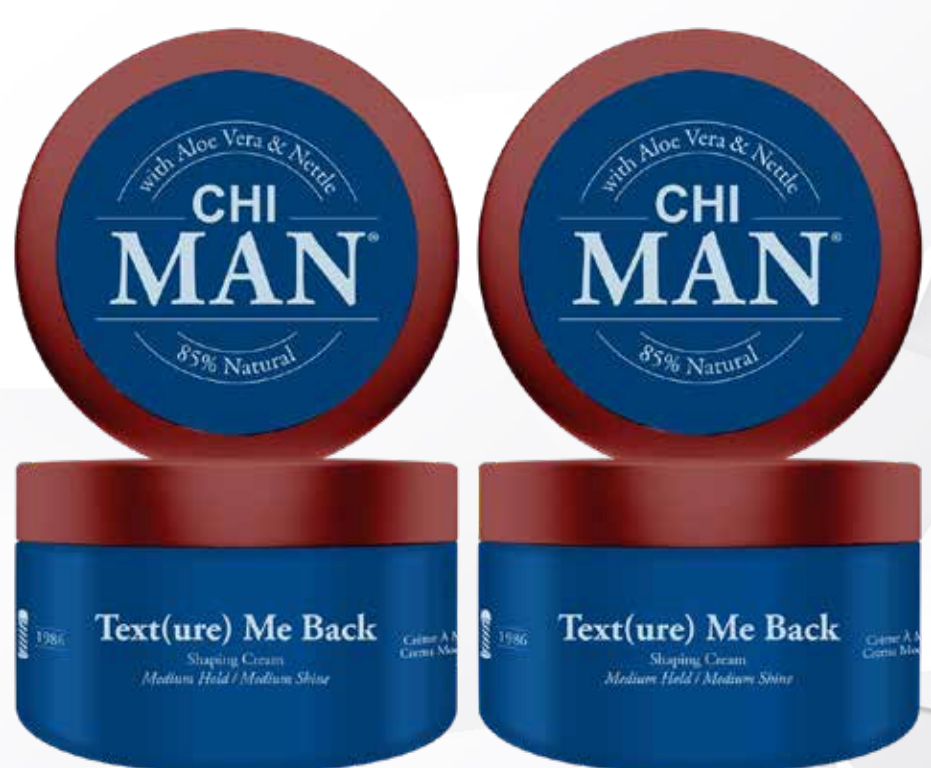 CHI Man Text(ure) Me Back Shaping Cream (Medium Hold/ Medium Shine)
