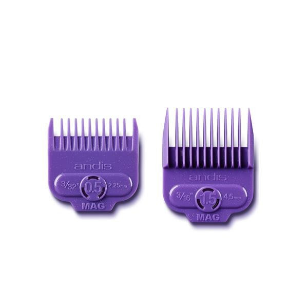 ANDIS Magnetic comb set 2 pieces