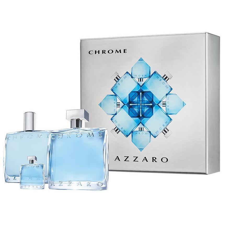 AZZARO Chrome gift set (Holiday Season)
