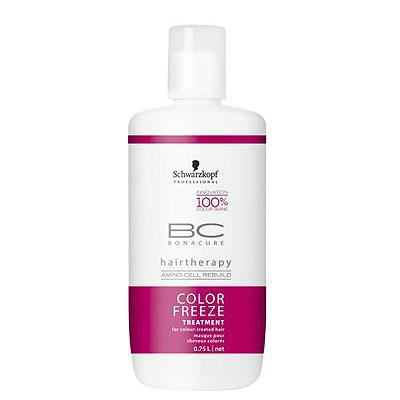 BC Bonacure Color Freeze treatment for coloured hair