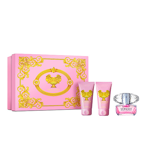 VERSACE Bright Crystal 3-Piece Holiday Gift Set
