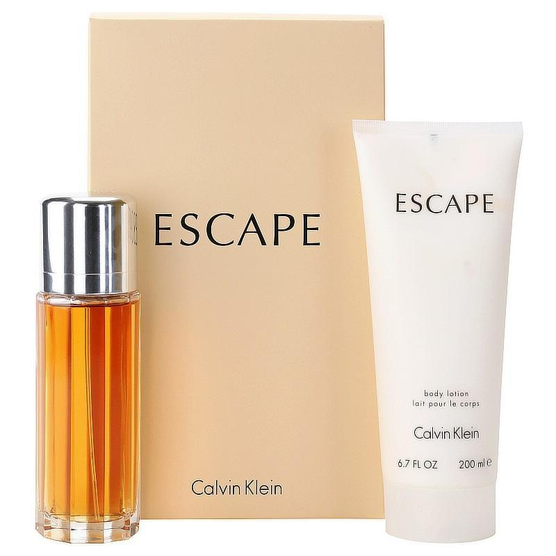 Escape Holiday gift set