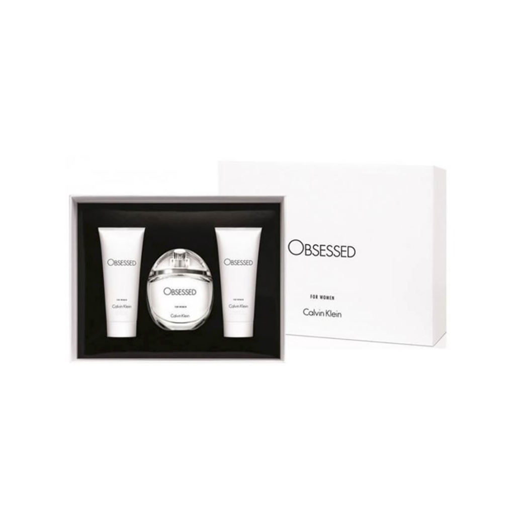 ck obsessed For Women 3-Piece Holiday Gift Set