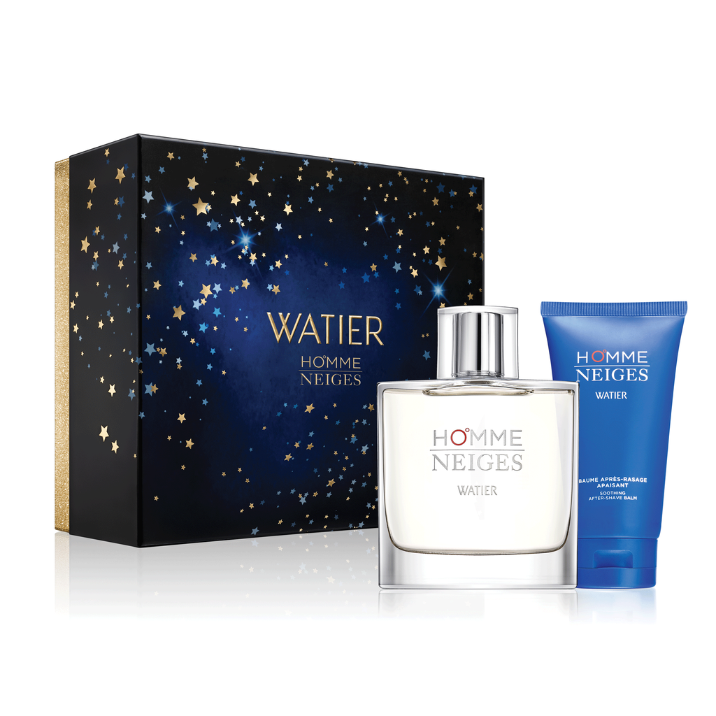 lise watier neiges homme two piece gift set
