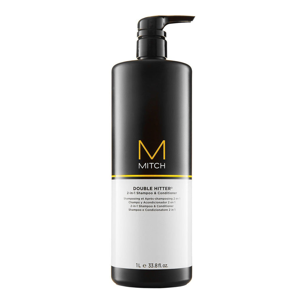 PAUL MITCHELL Mitch Double Hitter 2-in-1 Shampoo & Conditioner for men