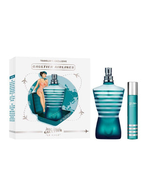 JEAN PAUL GAULTIER Le Male Traveler's Exclusive (Gaultier Airlines) Gift Set