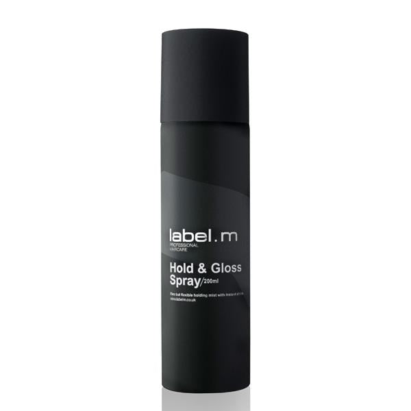 Hold & Gloss Spray By Label.m