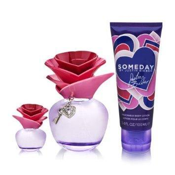 Justin bieber Someday x-mas gift set