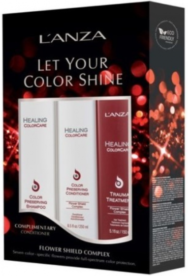 L'ANZA <br> Let your Color Shine trio Kit