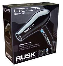 RUSK CTC Lite Technology hair dryer model IREB5587C