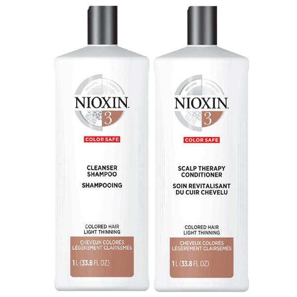 System 3 Cleanser & Scalp Therapy Duo Set shampoo & conditioner