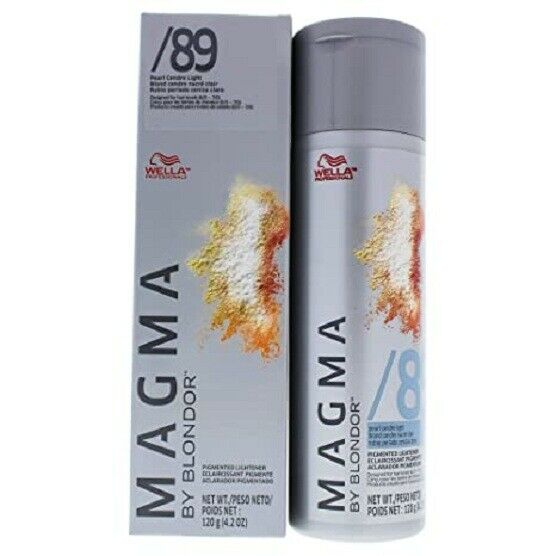 Magma By Blonder /89 Light Pearl Ash Highlghting Color