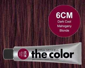 The Color 6CM Dark Cool Mahogany Blonde