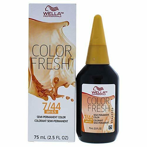 Color Fresh Warm 7/44 Medium Blonde/Intense Red Hair Color