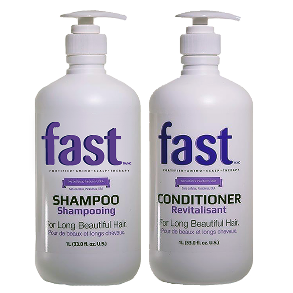 NISIM <br>F.A.S.T 2 Pack - 1Litre Shampoo & Conditioner