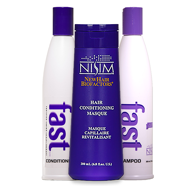 NISIM <br>F.A.S.T 2 Pack 300mL Shampoo & Conditioner + Hair Conditioning Masque
