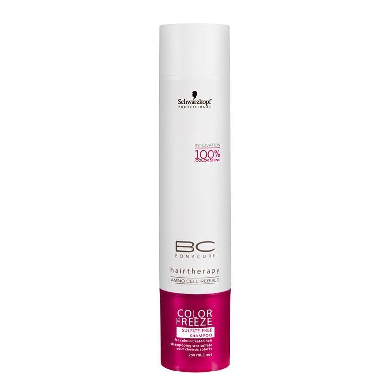 BC Bonacure Color Freeze sulfate free shampoo