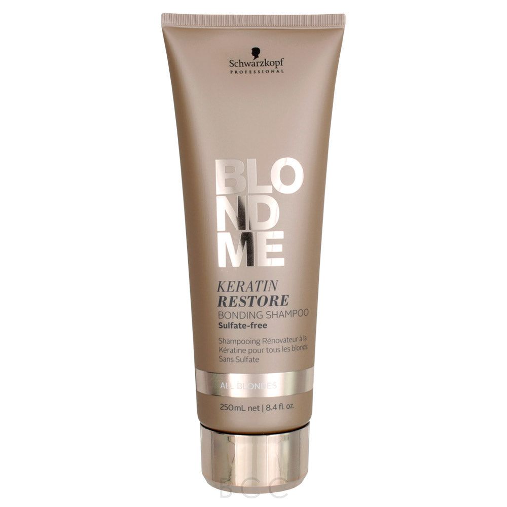 BlondMe All Blondes Keratin Restore Bonding Shampoo
