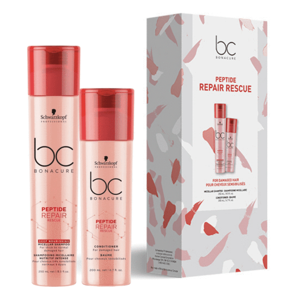BC Bonacure Peptide Repair Rescue duo