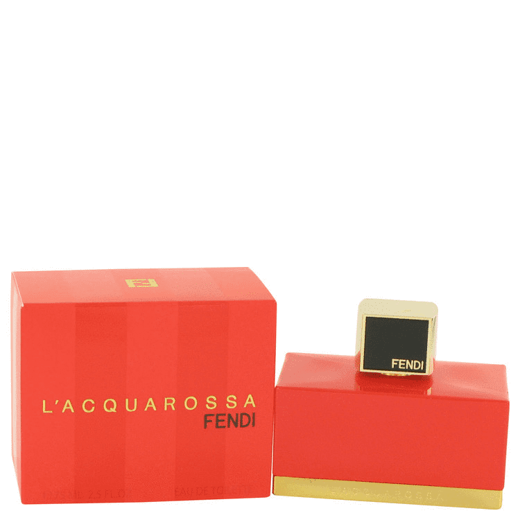 FENDI L'acquarossa for women eau de toilette spray 2.5 oz