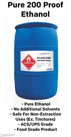 Pure 200 Proof Ethanol Advantages