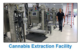 Golden Leaf Holdings New Cannabis Extraction Facility