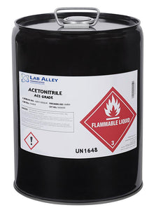 Acetonitrile, ACS Grade, 5 Gallon Metal Pal