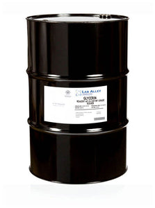 Glycerin, Reagent ACS & USP/NF Grade, Kosher, 55 Gallon Metal Drum