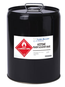 Acetone, 5 Gallon Metal Pail