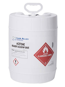 Acetone, 5 Gallon Pony Pail