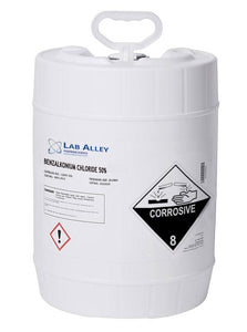 Benzalkonium Chloride | 50% Concentration | 5 Gallons
