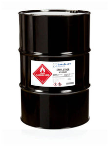 Ethyl Ether, ACS Grade, 55 Gallon