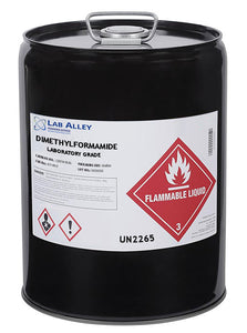 Dimethylformamide Laboratory Grade Solvent, 5 Gallons